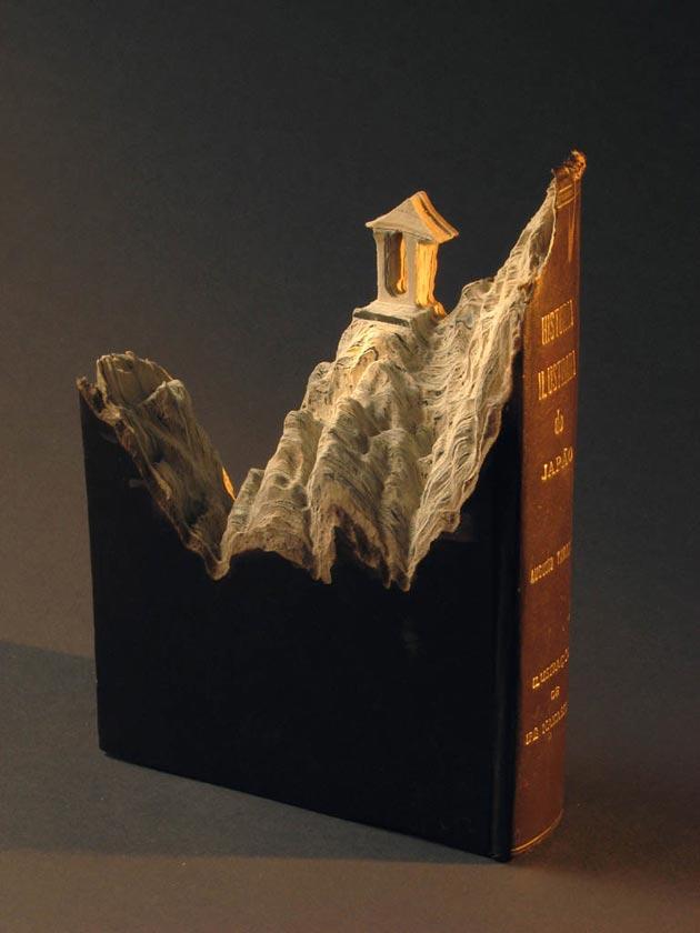 krajolici urezani u knjige