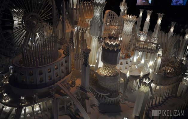 dvorac od papira