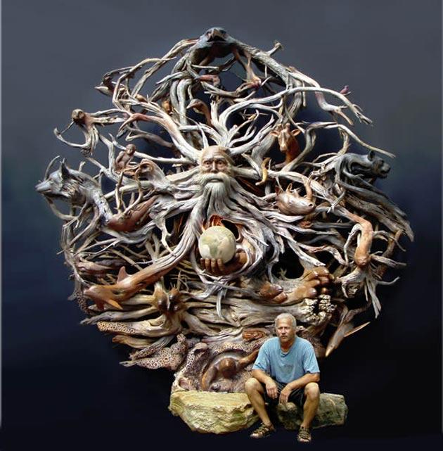 skulptura od drveta