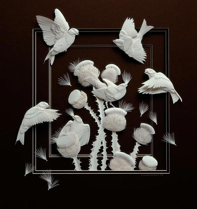 skulpture od papira