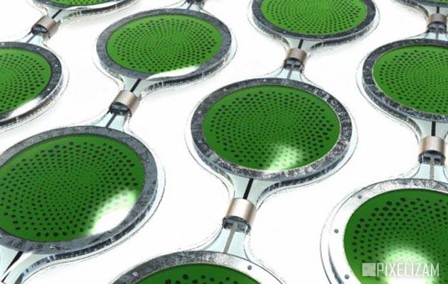 Solarni paneli od algi