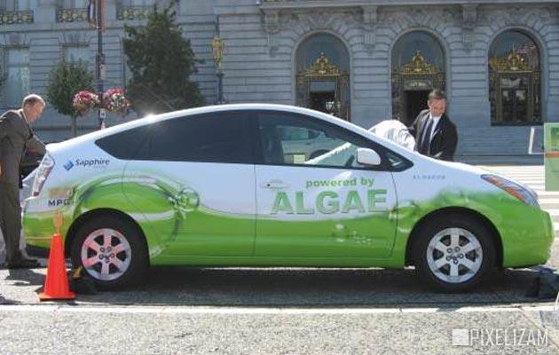 automobil koji pokrecu alge