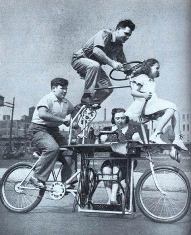 porodicno biciklo