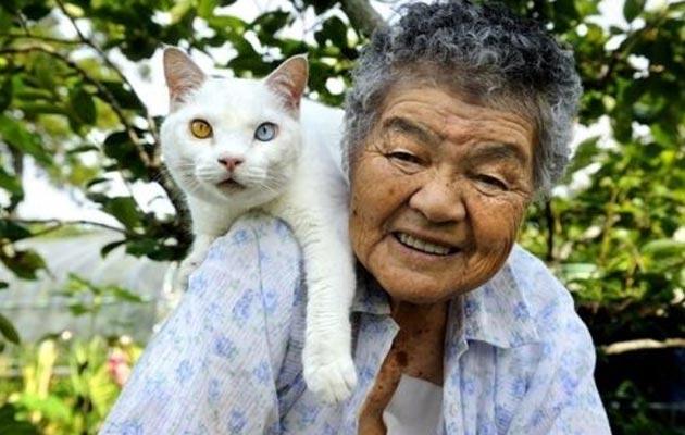 starica i mačka