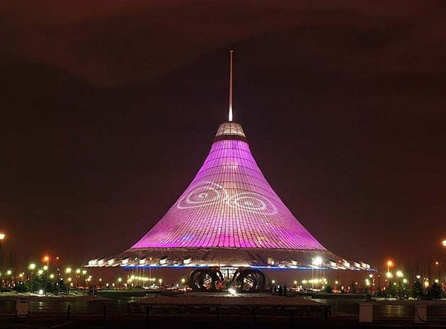 Khan Shatyr, najveći šator na svijetu Khan-Shatyr7