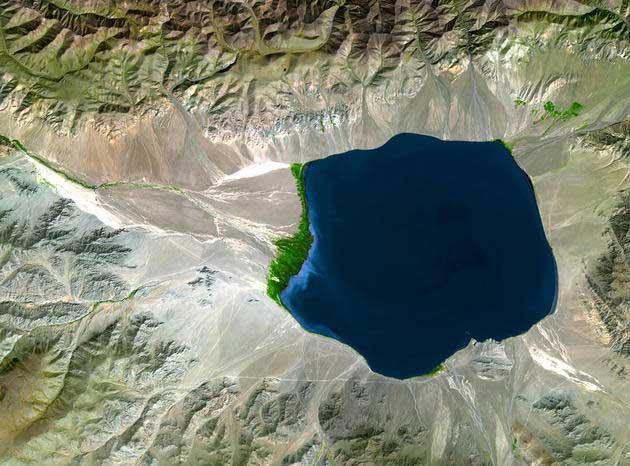 Uvs jezero, Mongolija