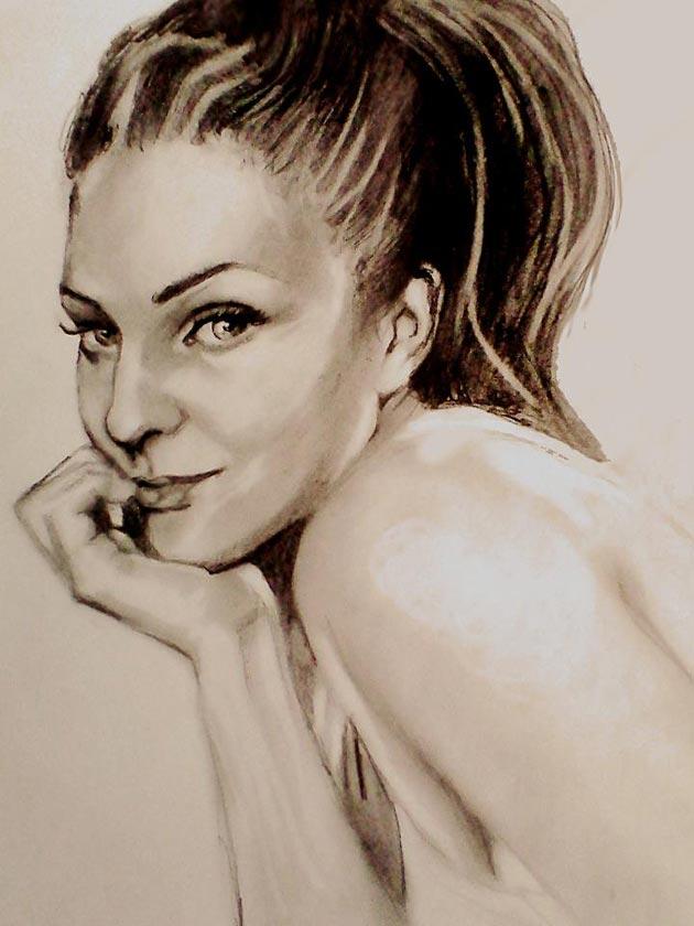 mina-autoportret