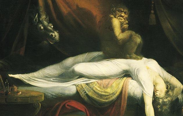 """Noćna Mora"" by Henri Fuseli (1781)"