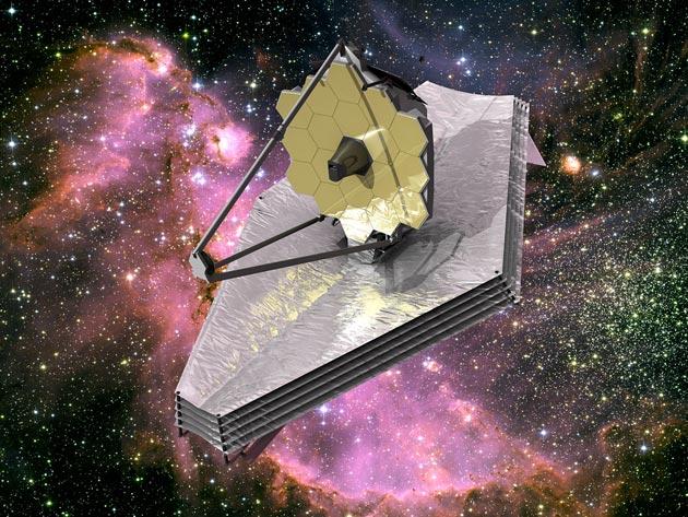 3D prikaz teleskopa u svemiru