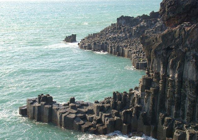 Jusangjeolli - bazaltne stijene