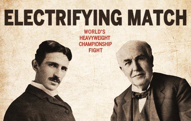 Tesla (lijevo) i Edison (desno)