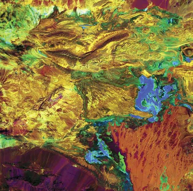 Velika slana pustinja, Iran