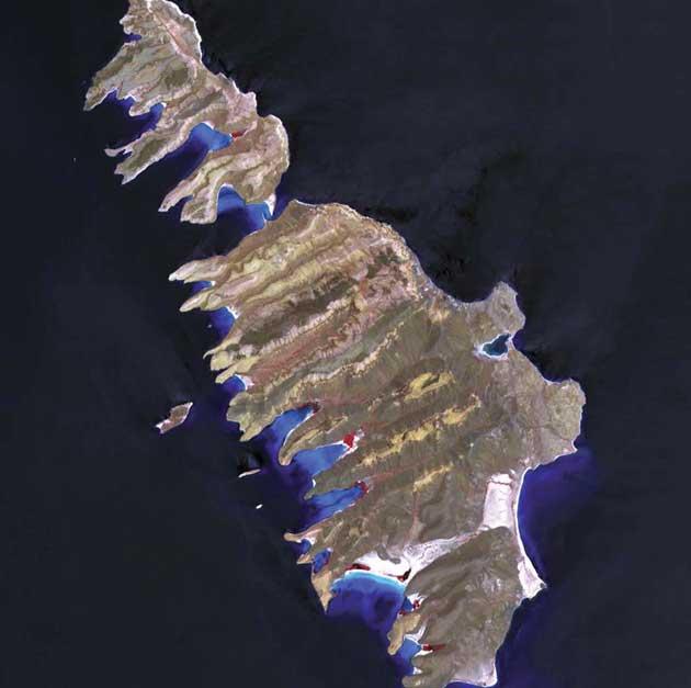Isla Espíritu Santo i Isla Partida, Meksiko