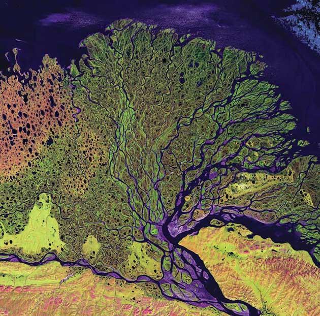 Delta rijeke Lena, Rusija