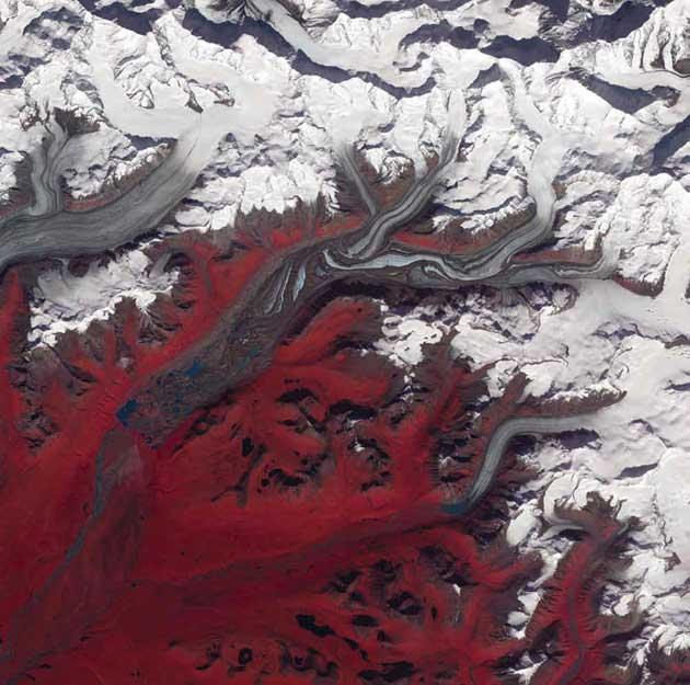 Susitna Glečer, Aljaska