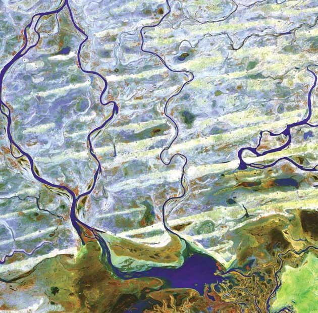 Rijeka Niger, njezine pritoke i jezero Debo, Zapadna Afrika