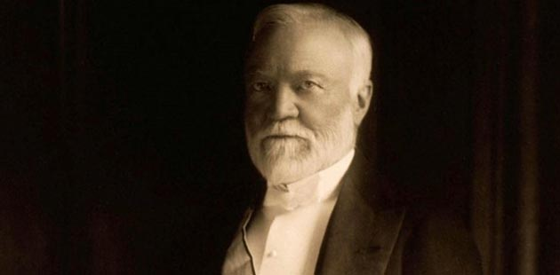 Istorija biblioteke Andrew-Carnegie