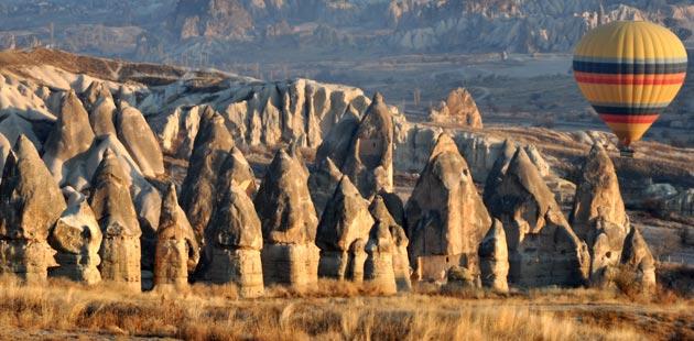 Kada se priroda poigra bojama Kapadokija