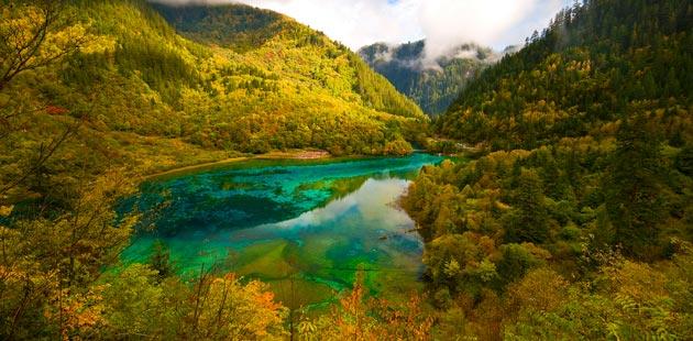 Najlepši nacionalni parkovi sveta Jezero-pet-cvjetova