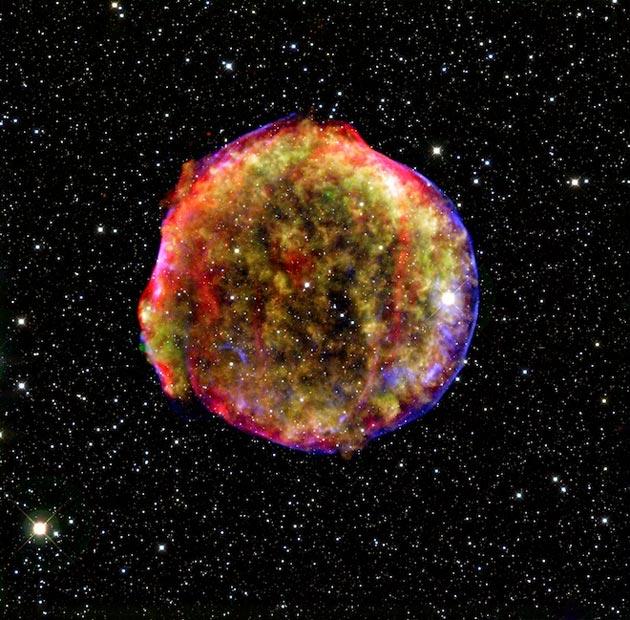 SN 1572 (Tychova Supernova, ostatak supernove koja je eksplodirala 1572. godine)