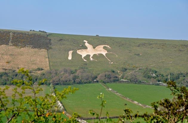 Bijeli konj kod Osmingtona je nastao 1808. godine, a predstavlja Georgea III, kralja Ujedinjenog Kraljevstva