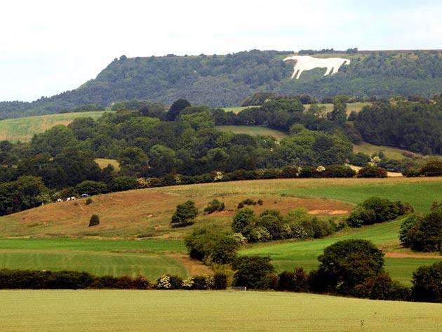 Bijeli konj kod Kilburna je nastao 1857. godine nakon što je jean lokalni stanovnik posjetio Bijeloj konja kod Uffingtona, te dobio inspiraciju da i on napravi sličnog.