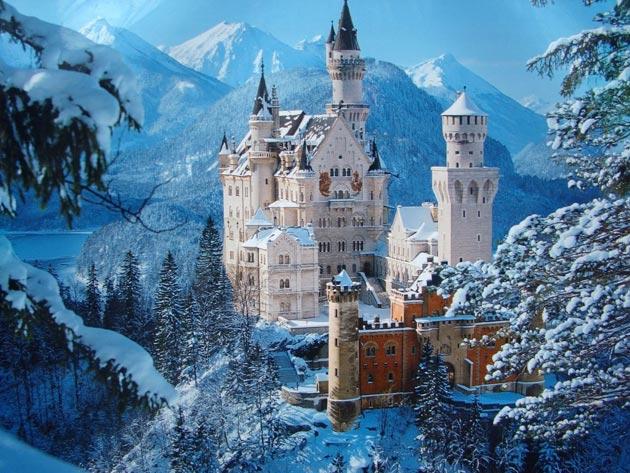 Dvorci koje verovatno nikada nećete posedovati - Page 3 Neuschwanstein-1