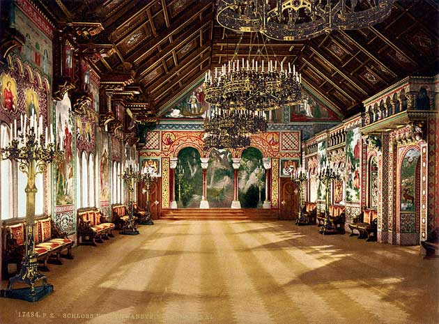 Dvorci koje verovatno nikada nećete posedovati - Page 3 Neuschwanstein-10