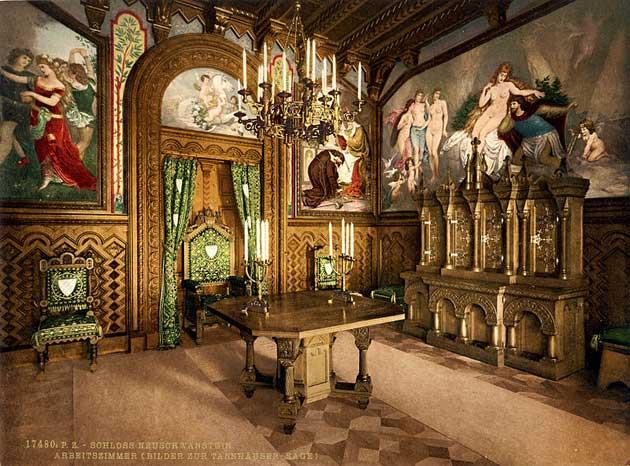 Dvorci koje verovatno nikada nećete posedovati - Page 3 Neuschwanstein-9