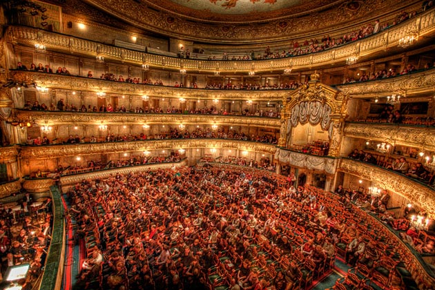 Marijinski teatar, jedna od najpoznatijih opernih i baletnih kuća na svijetu,