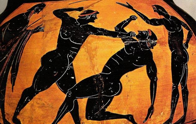Istorijat sportova Pankration