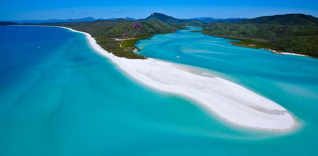 Australija Whitehaven-Beach