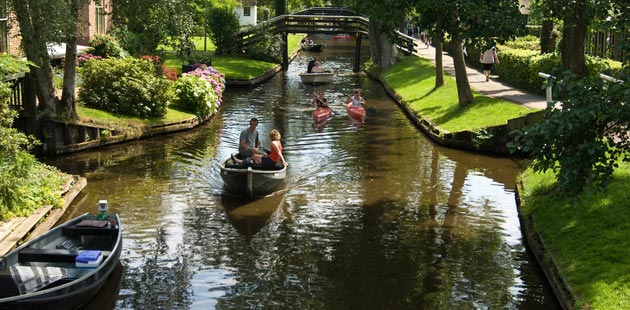 Giethoorn: Venecija Sjevera, Nizozemska Giethoorn