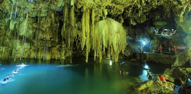 Zanimljivosti iz  geografije - Page 3 Cenote-Xkeken