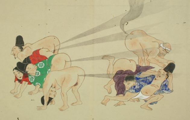 """""""Borbe prdežima"""" su bili popularni umjetnički crteži koji su nastali u Japanu tokom Edo razdoblja (od 1603. do 1868. godine)."""