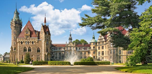 Dvorac-Moszna